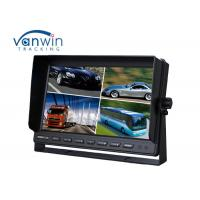 Quality Truck / Van / Bus TFT Car Monitor 24v 10.1 inch 16:9 digital rear view monitor 4 ways input / output for sale
