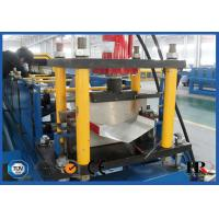 Quality Roof Valley Flashing Roll Forming Machine , Roof Ridge Cap Roll Forming Line for sale