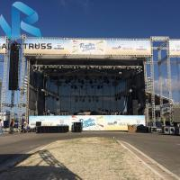 Quality 50cm 520 Alloy Concert Truss System , Water Proof Crank Stand Lighting Truss for sale