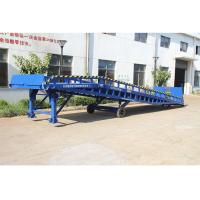 Quality Safety Movable Warehouse Loading Dock Ramps 6 - 10T With Anti Skid Platform for sale