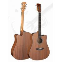 Quality 41inch Classic Whole Sapele Western Guitar / Vintage Wood Acoustic Guitar For Learners TP-AG52-1 for sale