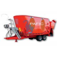 Buy Automatic Vertical Feed Mixer Wagons Dairy Farm Machinery With Appending Scoop at wholesale prices