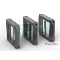 Quality High Security Boat Shape Swing Turnstile With RFID Access Control Systems for sale