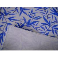 Buy Recyclable 6OZ Shoes Printed Cotton Canvas / Plain Woven Fabric For Bags at wholesale prices