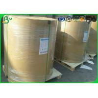 Quality Jumbo Roll C1S / C2S Art Paper , 100 Gsm Glossy Paper For Magazine Offset Printing for sale