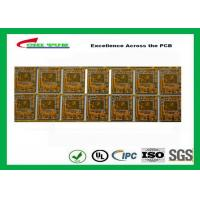 Quality Yellow Multilayer PCB 4 Layer Bluetooth Printed Circuit Board With BGA And Half Holes for sale