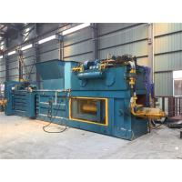 Quality 45 KW Low Noise Hydraulic Baler / Plastic Baling Press Rated Speed 980 Rpm for sale