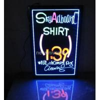 Quality Customized size Hanging Or Wall Mounted Crystal Acrylic led display for advertising for sale