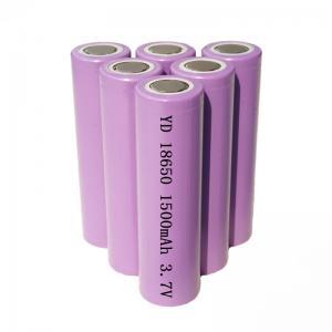 Quality OEM ODM 5.55Wh 3.7V 1500mAh 18650 Li Ion Battery for sale