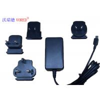 Quality 18W 12V Interchangeable Power Supply For Network Switch 1.5m Cable Length for sale