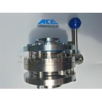 Quality Stainless Steel Food Grade Manual Welded Butterfly Valve (ACE-DF-1A) for sale