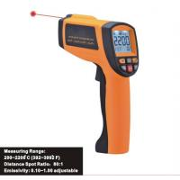 Quality Industrial Infrared temperature Tester, Digital Laser Infrared Thermometer, Thermodetector IR2200 for sale