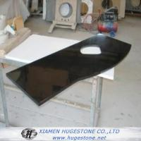 Quality Polished Black Sink Countertops, China black granite sink Countertops for sale