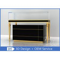 Quality OEM Jewelry Showcase Display Pull - Out Drawers With Lights And Locks for sale