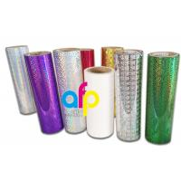 Buy cheap Holographic Thermal Lamination Film Laser Holographic Film for Gift Wrapping from wholesalers