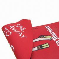 Quality Textile Fabric Printing with Dye Sublimation or Transferring Print, Various Colors are Available for sale