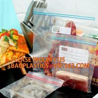 Buy cheap household LDPE Transparent reclosable bag in color box, PE food zipper lunch bags with color box, FDA Household use food from wholesalers