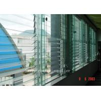 China rough grinding edge or polished edge Plate glass window / louver glass on sale