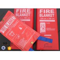 Quality White Fiberglass Kitchen Fiber Glass Fabric Industrial Emergency Fire Blanket for sale