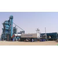 Quality Thermal Oil Heated Mobile Asphalt Batch Mixing Plant With Schneider & Siemens Components for sale