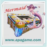 Quality 10P Fishing Game 3D Mermaid classical fish catching arcade game machine for sale