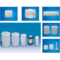 Buy White PTFE tube , 2.10g/cm³ PTFE Soft Joint / PTFE Material For Metal Tube at wholesale prices