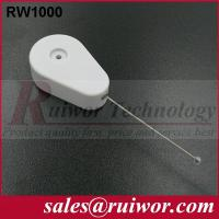 Quality Retractable Tether Security Device For Security Solutions , Retractable Security Wire for sale