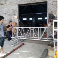 Buy Silver Straight Large Heavy Project Stage Lighting Truss 520*760mm at wholesale prices