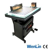 Quality Manual Plastic Pvc Sheet Welding Machine 3 Heads Welder adjustable Working pressure for sale