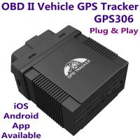 Quality GPS306 OBD II Car Vehicle Security GSM GPRS GPS Tracker + Car On-Board Diagnostics Trouble-Shoot Tool W/ iOS/Android App for sale