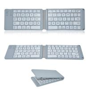 Quality Wireless Folding Bluetooth Keyboard , Ultra Slim Bluetooth Keyboard 78 Keys for sale