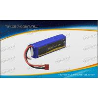 Quality High Rate LiPo RC Battery Pack 11.1V 2200mAh Peak 40C For RC Flight for sale