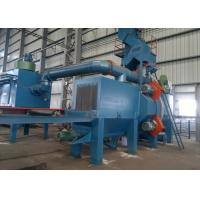 Quality Large Steel Plate Shot Blasting Machine Metal Cleaning Customized Design for sale