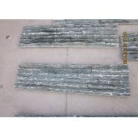 Quality Green Natural Split Artificial Culture Stone Tile 600 X 150 X 30-50 Mm for sale
