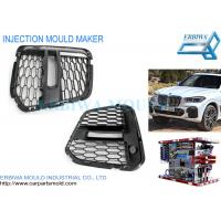 Buy cheap Front Bumper Vents Grille Mould , Plastic Car Parts Mould For IATF16949 Certificated from wholesalers