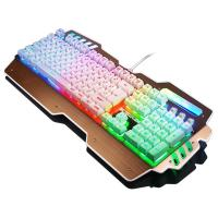 Quality Waterproof Anti Ghosting Bezel Keyboard Rainbow Backlit Keyboard Win 2000 for sale