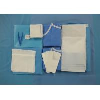 Quality Customized Disposable Surgery Pack For Obstetrics / C - Section Application for sale