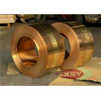 Quality Insulated Casting Oxygen Copper Foil Roll , Thin Copper Sheet 0.005mm - 1.2mm for sale