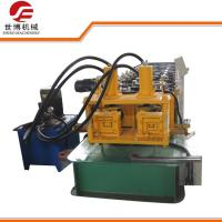 Quality Hydraulic cutting Steel Profile Metal C Purlins Roll forming Machine with two models for sale