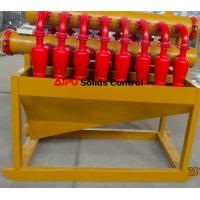 Quality Polyurethane hydrocyclone desilter separator in well drilling solids control for sale