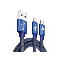 Quality Robust Electric  Micro USB Data Transfer Cable Long Life Span For Cell Phone for sale