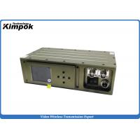 Buy Military COFDM Video Transmitter 5W RF Surveillance Wireless Audio Video Transmission System w/ Encryption at wholesale prices