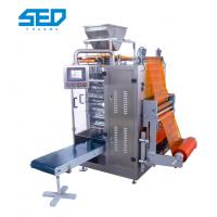 Quality Food Automatic Packing Machine Vertical Type For Four Side Sealed Granule Bagging for sale