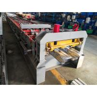 Buy cheap Sheet Cold Roll Forming Machine High Strength Metal Floor Steel Decking from wholesalers
