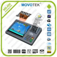 China Movotek touch screen pos terminal with WiFi, 3G, RFID and Thermal Printer on sale