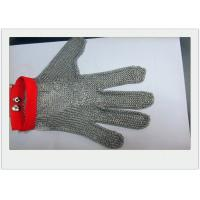 Quality Cut Resistant Stainless Steel Gloves Metal Welded For meat industry for sale
