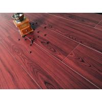 Quality Wine Red Bamboo Fiber Wood Style Ceramic Tile For Administration , Household for sale