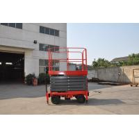 China 9 Meters Mobile Hydraulic Scissor Lift with 450Kg Loading Capacity on sale
