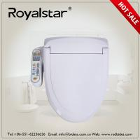 China Hygienic Intelligent Toilet Seat Cover 110V - 220V Voltage Hot Water Washing on sale