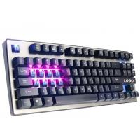 Quality 87 Keys illuminated Mechanical Gaming Keyboard anti ghosting USB interface for sale